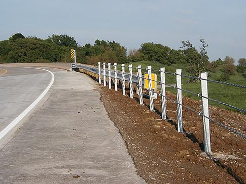 Cable attachment to bridge corner