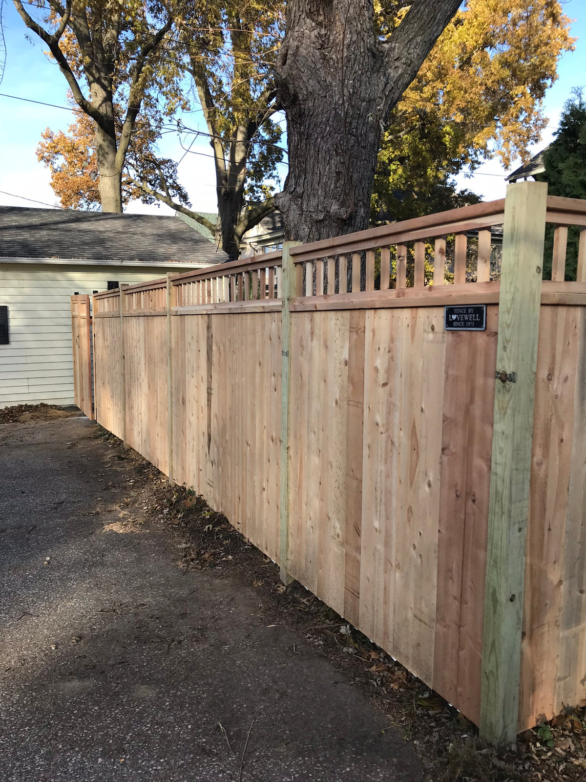 Lovewell Residential Copperwood Fencing