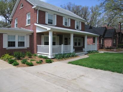 Lovewell Front Porch Restoration