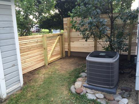 Lovewell Cedar Fence