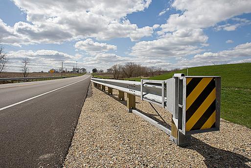 Guardrail end treatment