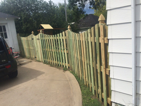 Lovewell Copperwood Fence