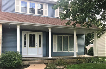 Lovewell Front Porch Restoration