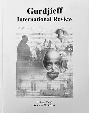 Gurdjieff International Review/Vol. II, No. 4: The Gurdjieff--de Hartmann Music