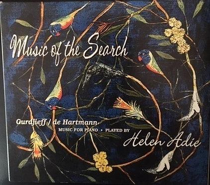 HELEN ADIE Music of the Search:  Gurdjieff/de Hartmann Music for  Piano