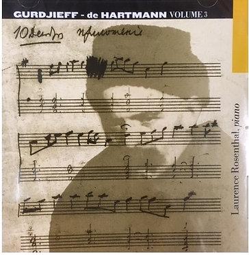 ROSENTHAL Gurdjieff-de Hartmann, Volume 3