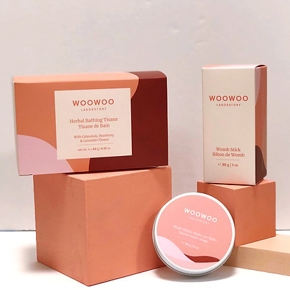 WooWoo Mama Bundle: Natural Care for Pregnancy and Postpartum