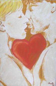 Heart And Soul - Gemälde von Manfred Hilberger