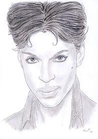 Elvis Prince - Zeichnung von Manfred Hilberger