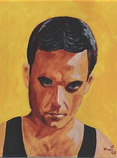 Doleful Robbie - Gemälde von Manfred Hilberger
