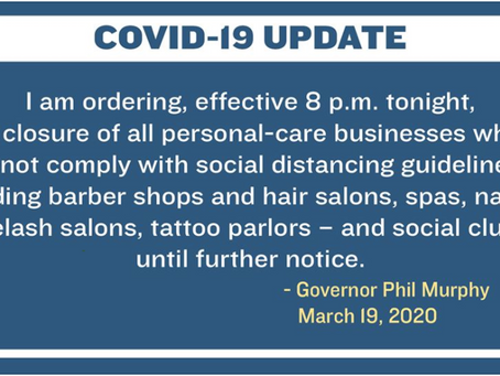 It's Official - NJ Tattoo Shops Ordered to Close.