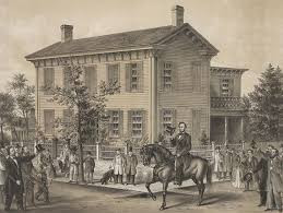 ABRAHAM LINCOLN: HIS LIFE -- & HORSE -- IN SPRINGFIELD