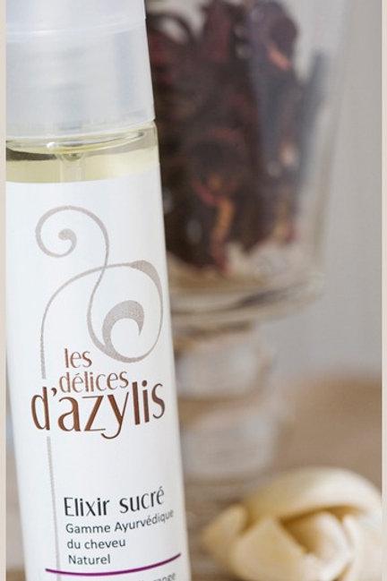 L'Elixir Sucré parfum cheveux