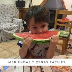 MERIENDAS Y CENAS FÁCILES