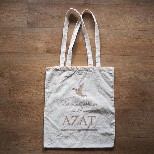 """Tote bag """"Les petites affaires d'Azat"""""""