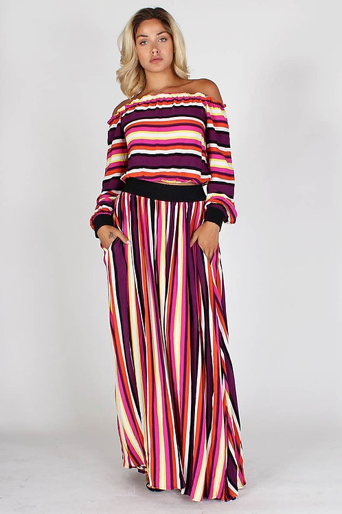 STRIPE AND GO (2 PIECE SET)