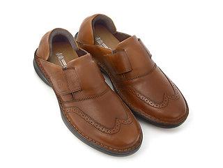 手楽靴 男性用 茶色