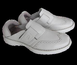 楽靴 男性用 白色