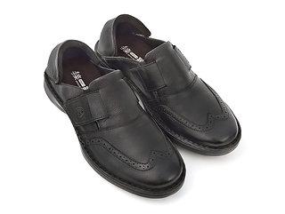 手楽靴 男性用 黒色