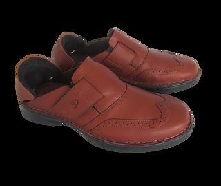 楽靴 男性用 茶色