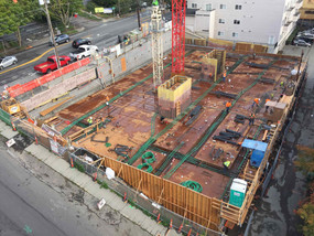 Concrete Pour on Sep 14th - Expect noise and heavy truck traffic