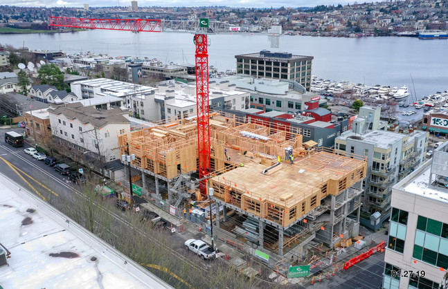 Tower Crane Dismantle on May 4th – Expect periodic street closures