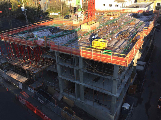 Concrete Pour on Dec 10th  - Expect noise and heavy truck traffic