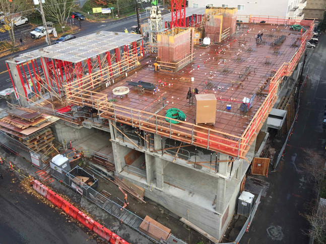 Concrete Pour on Nov 12th  - Expect noise and heavy truck traffic
