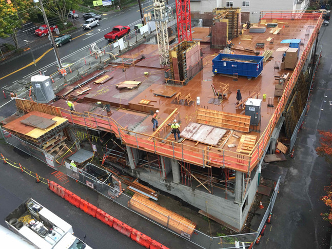Concrete Pour on Oct 22nd  - Expect noise and heavy truck traffic