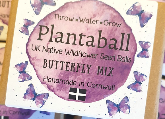 Butterfly Mix - Wildflower Seed balls