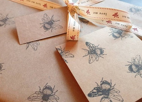 Bumble Bee Wrapping Paper Set