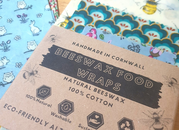 Beeswax Food Wraps (3 Pack)
