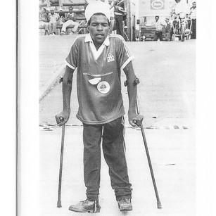 Mpumelelo Gamede fights back