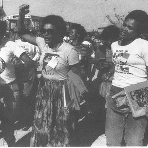 Forward with the women's struggle