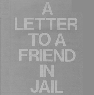 A letter to a friend in jail