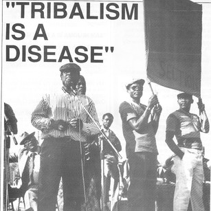Tribalism is a disease