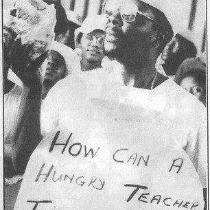 """Teachers are humans too"""