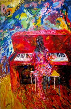 mujer-ave-en-el-piano-2009