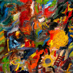 A-traves-de-los-recuerdos---Oleo-sobre-tela-2012