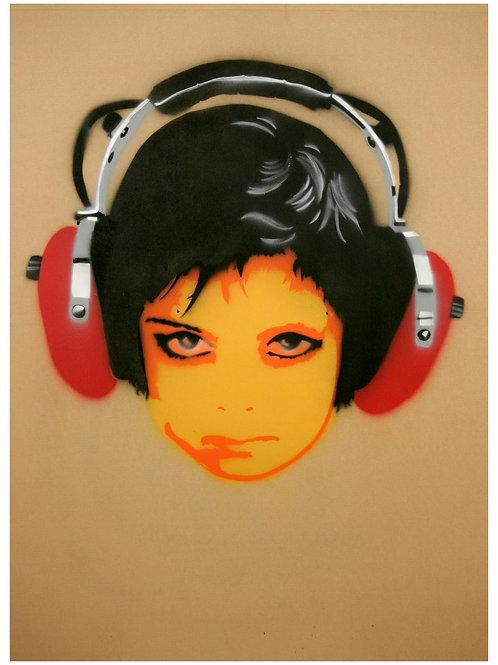 Fine Art Print 'Listen' 30x40cm Edition 1/5 + 1 AP