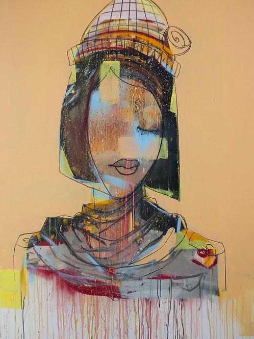 Fine Art Print 'Salima La Bien Aimée' 20x30cm Edition 1/15 + 1 AP