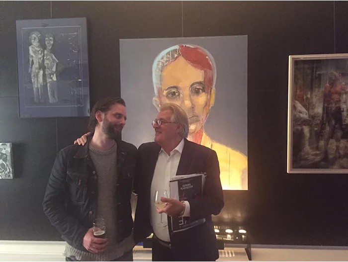 Alexander Koning en Jeroen Krabbé