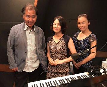 西村由紀江さんのラジオ番組出演♬
