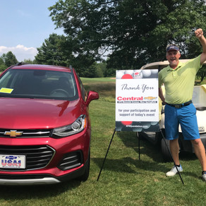 Massachusetts Golf Outing Participant Wins Brand New Car!