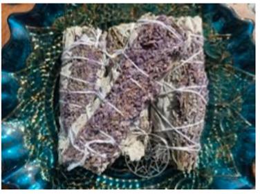 Lavender Sage Smudge