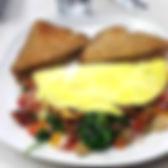 Loaded omelet