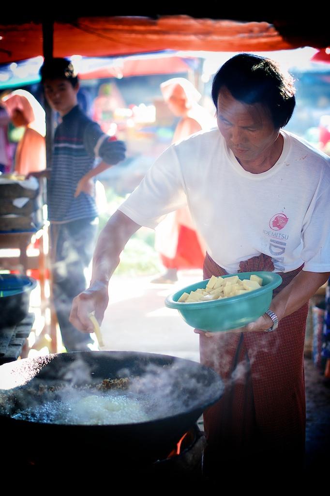 Frying Potatoes