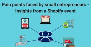 A Shopify event for small businesses – a recap