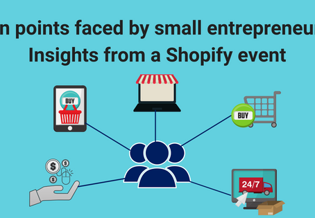 A Shopify event for small businesses – a recap