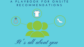 A Playbook for onsite recommendations